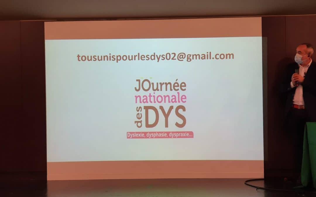 Retour sur la Journée Nationale des DYS DU 10 Octobre 2020 à SOISSONS